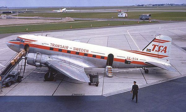 Transair Sweden DC-3